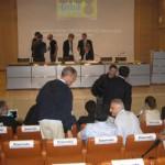 Sul palco, De Biase e Bernabè