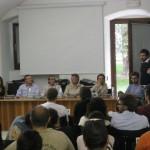 Foto gruppo dibattito TV-Web