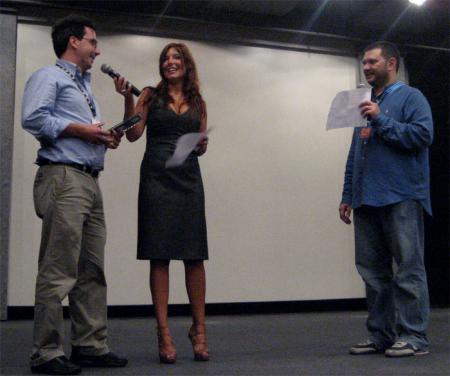 Antonio Sofi ritira i premi per Zoro